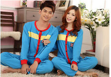 6031 men women Pajamas Couples household clothes Sleepwear gift Costume Set