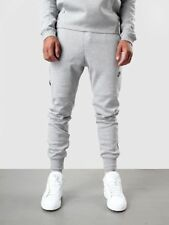 (545343-065) MEN'S NSW NIKE TECH FLEECE PANTS CUFFED GREY HEATHER/BLACK