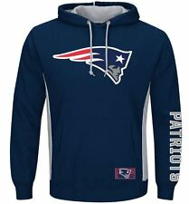 New England Patriots MENS Sweatshirt Pullover Hoodie Passing Game by Majestic