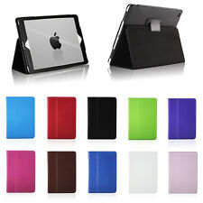 Leather Skin Case Cover Pouch Protector Kickstand For Apple iPad Air 1st 2nd 4G