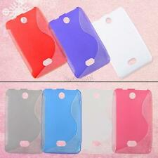 silicone tpu rubber s-lined jelly soft skin case cover pouch for nokia asha 501