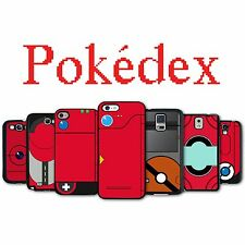 Pokedex Black Phone Case for iPhone 4 4S iPhone 5 5S Galaxy S3 S4 S5 Note 2 3
