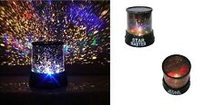 LED Colourful Night Light Projector Lamp Changing Light Party Xmas Gift STATUS