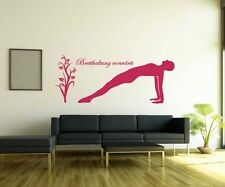 Wall Decal board forward posture Yoga Sport Hand Wall Stickers 5G062