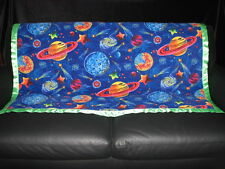 Space and Planets Personalized Fleece Blanket 46 x 60
