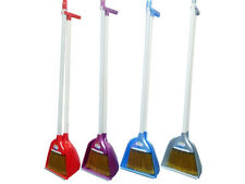 Long Handle Handled Pyramid Garden Dustpan Dust Pan And & with Brush Set Sweeper