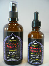 100% PURE Organic Moroccan BIO ARGAN OIL For Anti-Ageing Skin Body Hair & Nails