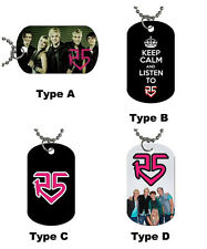 New R5 Band Photo Dog Tag / Necklace