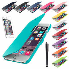 Magnetic Flip Leather Hard Skin Pouch Wallet Case Cover For Apple iPhone 6