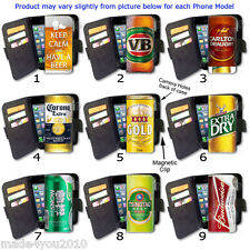 iPhone Samsung Wallet Flip Case Card Phone PU Leather COVER Collection 12