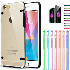 Apple iPhone 6/6 Plus case Slim Transparent Crystal Clear Hard TPU Back Cover