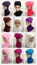 New Cotton Muslim Ninja Hijab Inner Caps Islamic Underscarf Hats