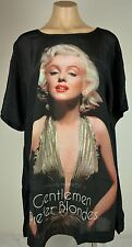 Peter Alexander Womens- Marilyn Monroe Silk Front Sleep Tee- BNWT Choose Size