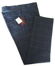 Mens Relco Tweed STA PRESS PREST Trousers NEW Sizes 32 34 36 38 40 42 Mods 60s