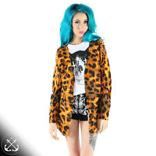 Iron Fist Change Your Spots Cardigan,Cardy,Animal Print,Rockabilly,