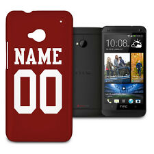 NFL San Francisco 49ers Personalized Phone Hard Shell Case for HTC One M7 Mini..