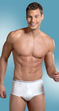 Jockey Mens Classic Y-Front Fly Opening 3-Pack Briefs White Multipack IN 7 Sizes