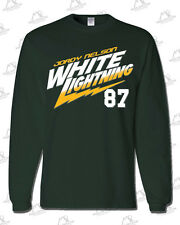 "Jordy Nelson ""White Lightning"" LONG-T: Forest Green, Green Bay Packers WR #87"