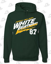 "JORDY NELSON #87 Green Bay Packers Wide Receiver ""White Lightning"" HOODIE"