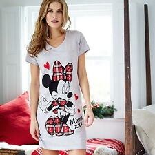 LOVELY LADIES BRAND NEW DISNEY MINNIE MOUSE COTTON BLEND SLEEP TEE FROM AVON