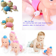 Hot Boy Girl Cute Windup Crawling Crawl Toy Doll Christmas Gift for Child Baby