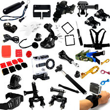 Head Chest Strap Tripod Roll Cage Mount for GoPro HD Hero 1 2 3 3+ Accessories