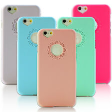 ULTRA SLIM COVER FOR IPHONE 6 5/5S HARD PRETTY LACE PATTERN HEART NEW PHONE CASE