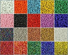 30g Glass Seed Beads - Size 11/0 -  Approx 2mm - Jewellery Making - Craft