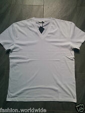 Authentic Mens Prada Basic V-Neck Lightweight T-Shirt XS-3XL Free P&P Hot Sale!
