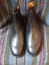 Sanders Thirsk black Chelsea boots size 9 width fitting G