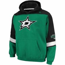 Dallas Stars MENS Sweatshirt Pullover Hoodie Ice Classic Logo by Majestic
