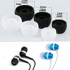 10 Pairs Replacement Silicone Earbud Ear Tips for Samsung LG in-ear Earphones