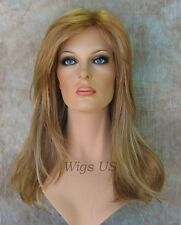 Long Wig Face Frame Longer layers Blonde Red Brown Choose Colors Wigs