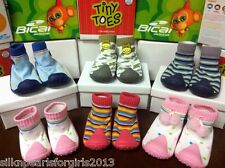 Boys Girls Infant Toddlers Tiny Toes / Bical  Baby Shoes Socks made in Brazil