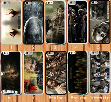 The Walking Dead Zombies for iPhone 6 6+ 4S 5S 5C Samsung S3/4/5 Note 2/3/4 Case