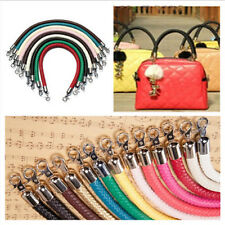 9 Color PU leather Round DIY Shoulder Bag Purse Handle Replacement Handbag Strap