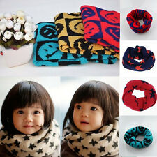 Soft Kids Children's cotton Woolen scarf Boy Girl Scarf Shawl Winter Neckerchief