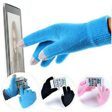 Men Women Winter Knit Glove Touch Screen Gloves For SmartPhone Pad Tablet Gift