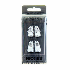 HICKIES Elastic Shoe Lacing System - 14 Pack No Tie Sneaker Boot Laces NEW