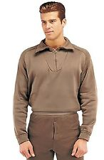 TOP BROWN Military ECWCS Cold Weather Thermal Polypropylene H.W. TOP ONLY 6250