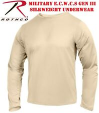 Desert Sand Military ECWCS Gen III Silk Weight Underwear Thermal Top 62020