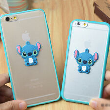 "3D Cute Stitch Soft TPU Frame Rubber Case cover for Apple iphone 6 plus 4.7"" 5S"