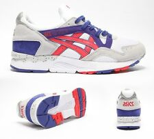 Mens Asics Gel-Lyte V White/Fiery Red Trainers