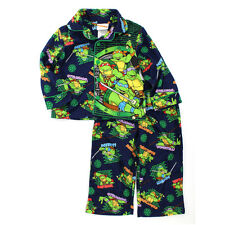 TMNT Teenage Mutant Ninja Turtles Toddler Boys Flannel Pajamas PJ NJ021ECL