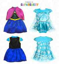 FROZEN BABY GIRLS ELSA COSTUME DRESS UP BIRTHDAY PARTY OUTFITS 0-3-6-9-12-18-24
