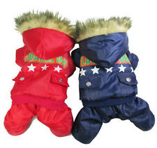 "Red/Blue dog Coat Jacket AIR FORCE""LOVABLE DOG""&Stars,pet puppy hoodies clothes"