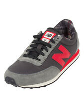 New Balance Grey/Red 410 Trainers