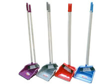Long Handle Handled Dustpan Dust Pan And & with Brush Set Sweeper