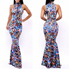 Sexy Ball Gown Women Mermaid Bodycon Bandage Maxi Dress Evening Cocktail Dress