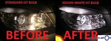 H7 XENON SUPER WHITE 499 12V 55W HEADLIGHT BULBS HID HEADLAMP DIPPED CAR X 2